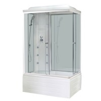 Душевая кабина Royal Bath RB 8100BP3-WT L